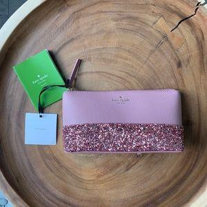 Kate Spade ♠️ Glitter Pouch